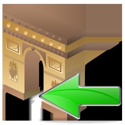 Arch of Triumph Back