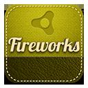 Fireworks retro-128