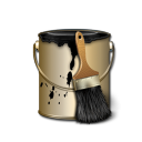 Paint Black and Gold-128