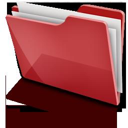 TFolder Red Full