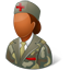 Armynurse Female Dark icon