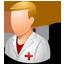 Nurse Male Light icon
