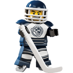 Lego Hockey Player