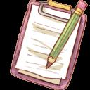 Notepad Pencil-128