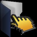 Folder Blue Click-128