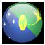 Christmas Island Flag icon