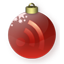 Feed Christmas Red icon