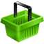 Green Cart icon