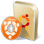 Ubuntu disc icon