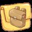 Folder Schoolbag icon