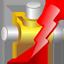 Disaster warning icon
