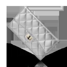 Chanel Silver Purse