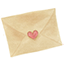 Love Mail drawing icon