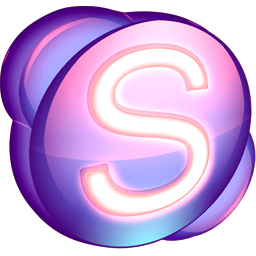 Skype purple