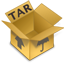 Archive tar Icon