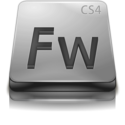 Adobe Fireworks CS4 Gray
