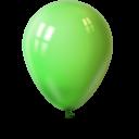 Ballon lime green-128