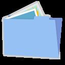Blue folder pictures alt-128