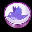 Twitter purple cooky-64