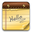 Hello Note icon