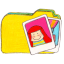 Folder y photos icon