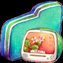 Computer Green Folder-128