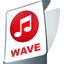 Wave file icon