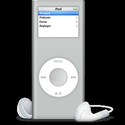 iPod nano argente