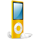 iPod Nano yellow on-128