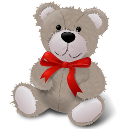 Teddy Bear Red Ribbon