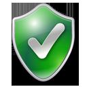 Checked shield green-128