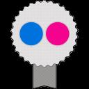 Badge Flickr-128
