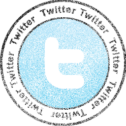 Twitter Stamp Icon Download Stamp Social Networks Icons Iconspedia