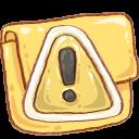 Folder Caution-128