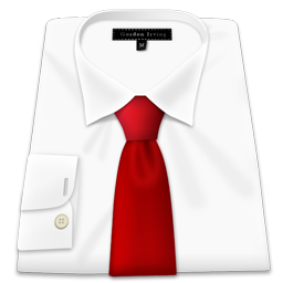 Shirt Red Tie