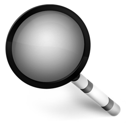 Magnifier black