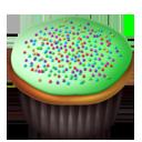Cupcakes green-128