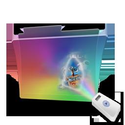 Folder rainbow movie