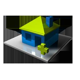Home Blue Add