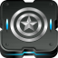Cap America Shield Icon