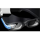 Blue Google Glasses-128