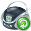 Boombox Reload Icon
