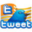 Tweet flag Icon