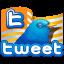Tweet flag icon