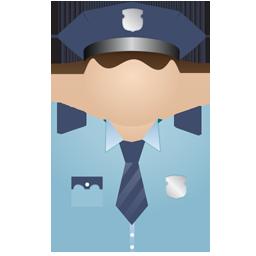 Policeman no uniform
