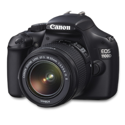 Canon 1100D side