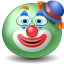 Clown emoticon Icon