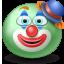 Clown emoticon icon