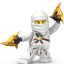 Lego Ninja White icon