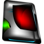 Disk red icon
